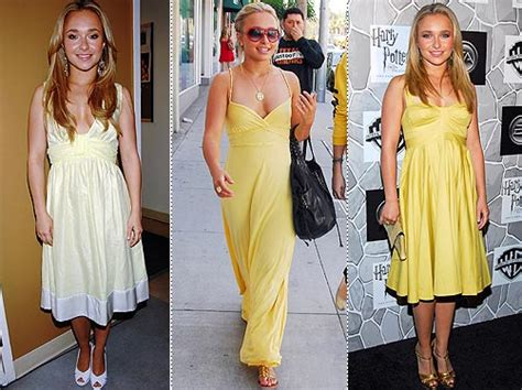 Get A Yellow Dress Like Hayden Panetierre by Get A Yellow Dress Like Hayden Panetierre Style News
