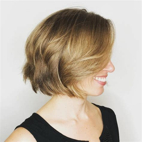 deconstructed bob hairstyle 23 cutest chin length hairstyles trending for 2018