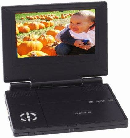 format audio vox audiovox d 1718 dvd player 7 quot cd r cd rw dvd cd media
