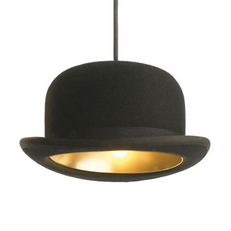hat lights jeeves and wooster authentic bowler and top hat pendant lights the green