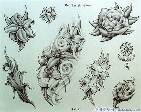 35 Flower Tattoo Design Sles And Ideas Flower Tattoos Flash Designs