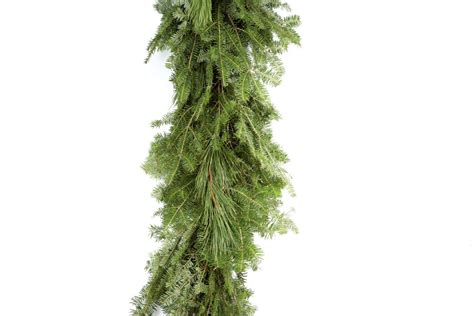 pine garland balsam pine garland evergreen industries