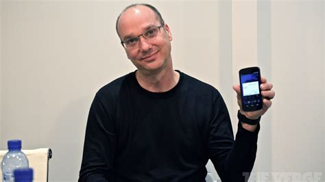 android founder android co founder andy rubin may want to start a new smartphone company the verge