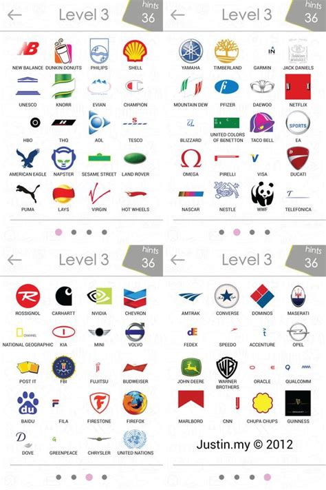 logo symbols quiz logos quiz answers level 3 random logos and quizes
