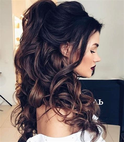 Wedding Hairstyles Up Side by Horoscope Bridal Looks 12 Half Up Half Wedding Hair