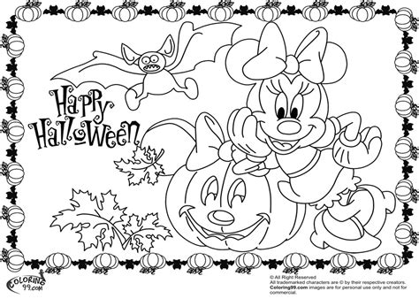 minnie mouse halloween coloring pages minnie and mickey mouse coloring pages for halloween