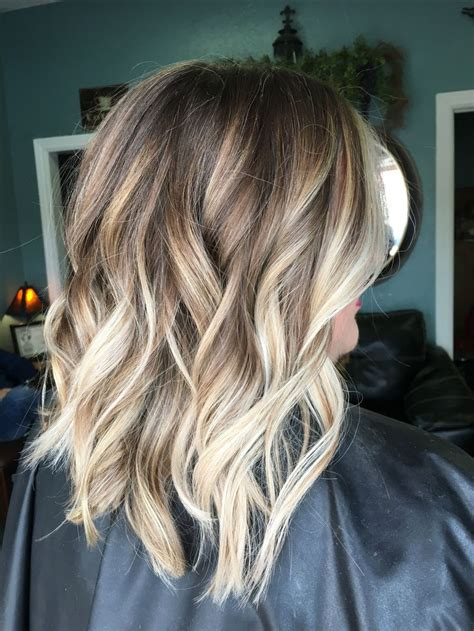short hairstyles blonde and brown trendy hair highlights balayage blonde hair brown hair