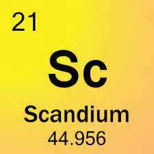 Scandium Protons Neutrons And Electrons 2013period2 Scandium