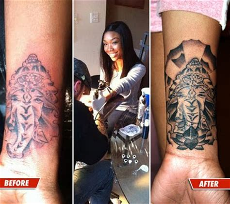 tattoo fixers vimeo do over brandy gets her elephant tattoo fixed