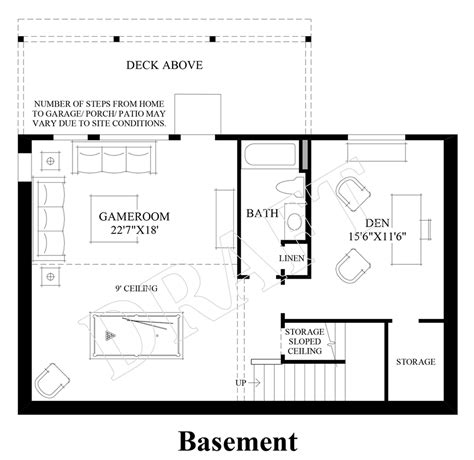 basement floor plans bayview at gig harbor the ashland with basement home design