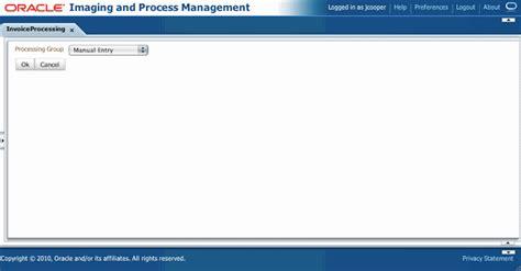oracle tutorial enum imaging solution tables