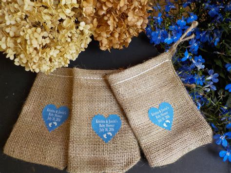 Baby Shower Burlap by Baby Shower Favors Burlap Bags Baby Shower Burlap Bags