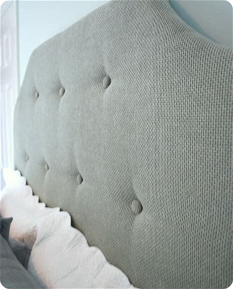 Diy Upholstered Headboard With Buttons by Diy Headboard I Used Small Plastic Buttons Instead Of The