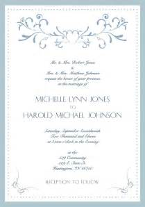 format of wedding invitation card in sle wedding invite wording sle wedding invitation card
