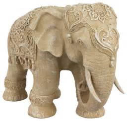Elephant statue traditional home decor by oriental furniture