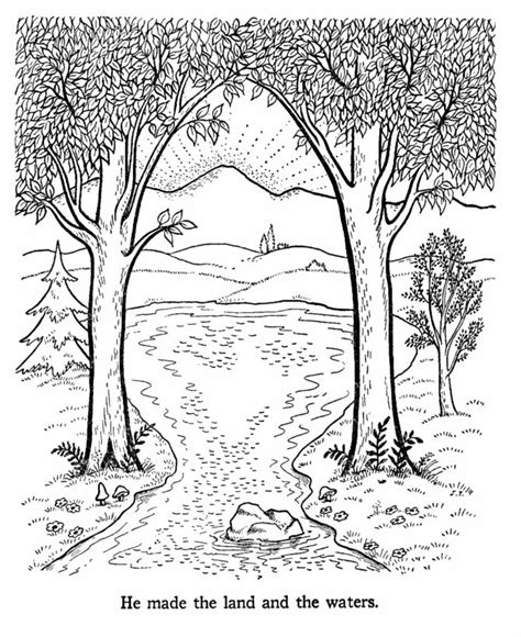 coloring pages creation earth bible creation story coloring pages earth day bible