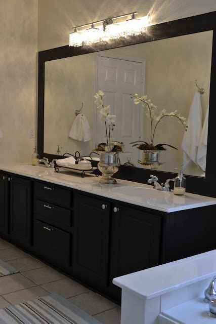 how to paint a bathroom vanity black remodelaholic best paint colors for your home black