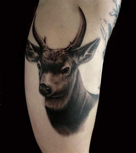 tattoo animal realism animals black grey realistic realism tattoo slave to