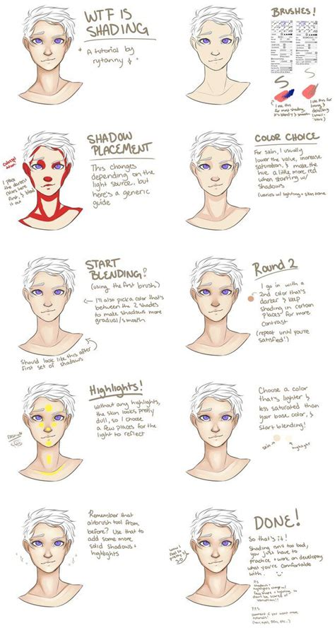 how to color skin is shading how to shade skin by rytanny poses and