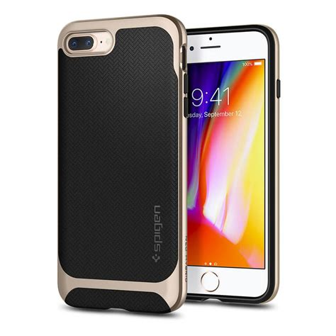 Iphone X Spigen Neo Hybrid Shiny Black spigen 174 neo hybrid herringbone 055cs22230 iphone 8 plus