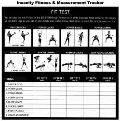 insanity fit test free insanity workout