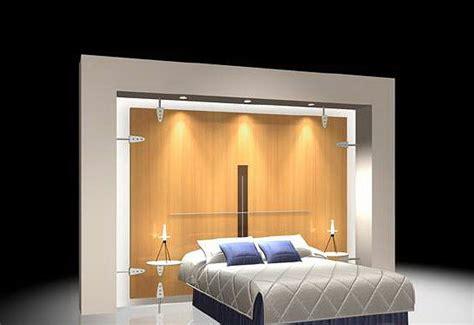 bed   wall  wardrobe cgtrader