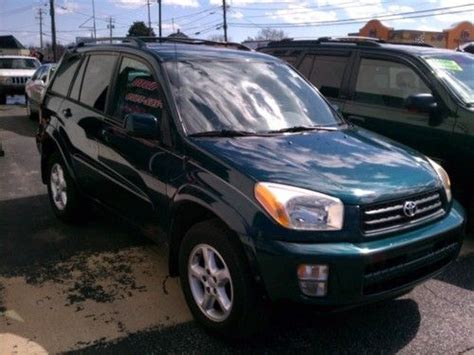 Used Toyota Rav4 For Sale In Maryland Find Used Quot No Reserve Auction Quot 2002 Toyota Rav4 L