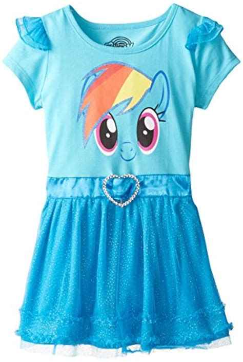 Pony Dress E by My Pony Dress With Ruffles And Wings Ebay