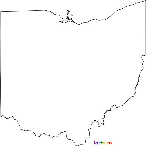 Outline Of Ohio Vector by Image Gallery Ohio Outline Black