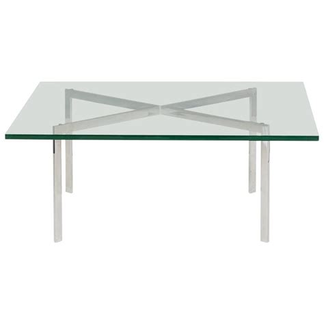 Mies Coffee Table Barcelona Coffee Table By Ludwig Mies Der Rohe For Gerald R Griffith For Sale At 1stdibs