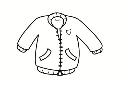 coloring page for jacket dibujo para colorear chaquet 243 n img 23336