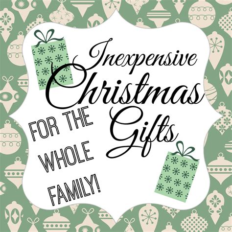 orchard girls inexpensive christmas gifts for the whole