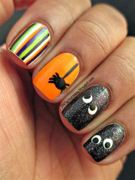 easy nail art halloween 20 simple halloween nail art designs ideas trends