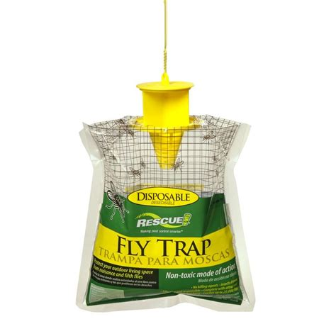 Kitchen Rugs Fruit Design rescue disposable fly trap ftd db12 the home depot
