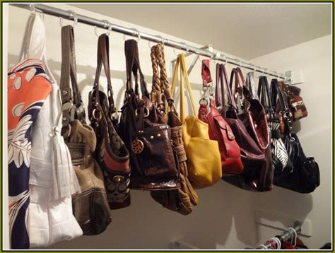 Purse Organizers For Closets by Diy Purse Organizer For Closet Home Design Ideas