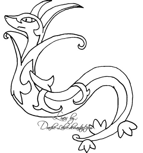 pokemon coloring pages servine pokemon serperior coloring pages images pokemon images