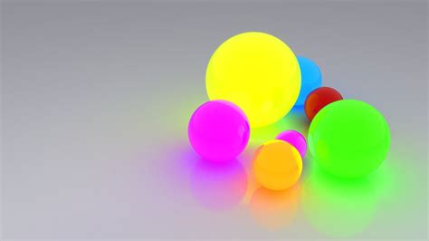 glow multicolor spheres wallpaper allwallpaperin