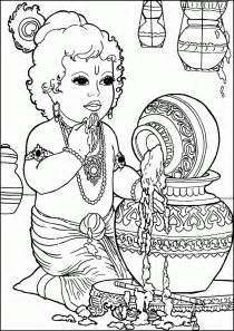 Outline Pictures Of God Krishna by Quot De Mathaji Para Mathaji Quot Riscos E Moldes De Krishna Baby Para Pintura