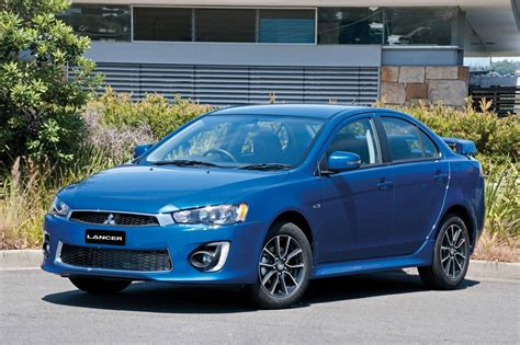 mitsubishi lancer mitsubishi cars facelifted 2016 lancer now available