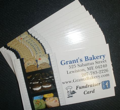 Gift Card Fundraising - grant s bakery inc 525 sabattus st lewiston maine 207 783 2226