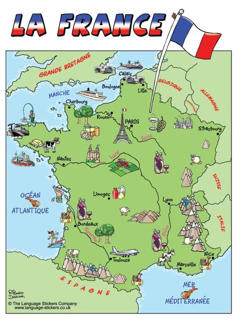 Map Of France by France Online Maps Geographical Political Road