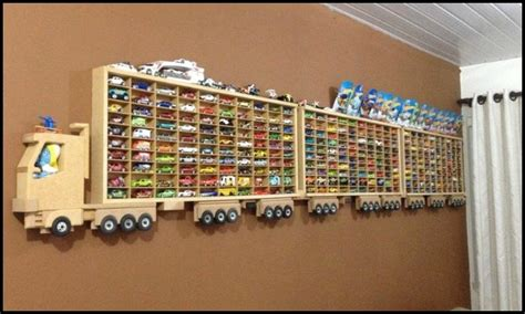 Awesome Toy Car Display Ideas!   DIY projects for everyone!