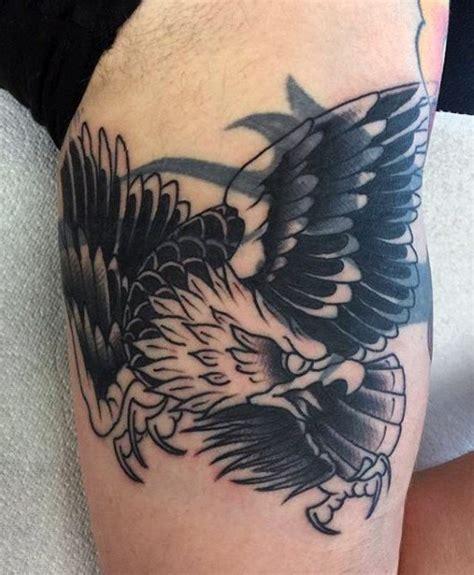 black eagle tattoo hours oldschool traditioneller amerikanischer adler