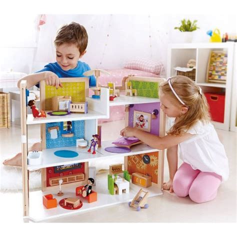happy family doll house hape happy family diy dream doll house educational toys planet