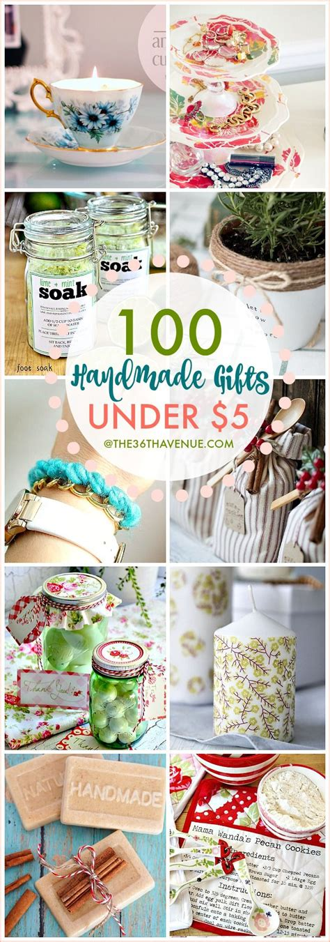 honemade christmas gifts under fifteen dollars 100 handmade gifts that are for gifts birthday presents and mothers day