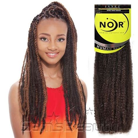 noir collection ombre afro twist synthetic hair braids janet collection noir afro twist