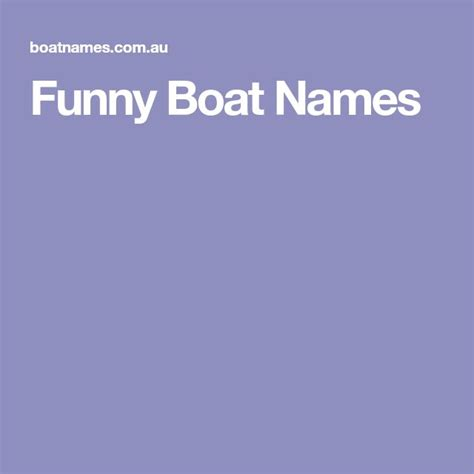 best 25 funny boat names ideas on pinterest funny boat - Male Boat Names