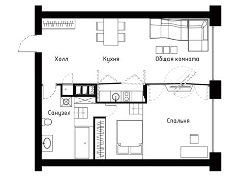 650 square feet to meters transformer apartment floor plan 60 sqm 1 bedroom