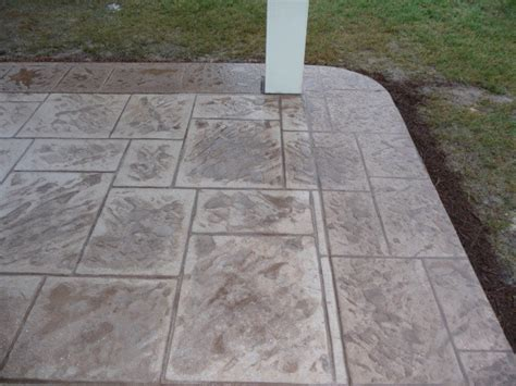 Patio Deck Flooring Options by Patio Cover Concrete Flooring Options Traditional