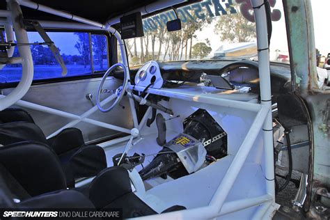 Gasser Interior by 1955 Fat57 Customs Chevrolet Gasser Drag Racing Race